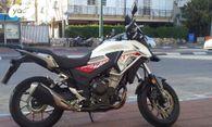 האופנה האופנתית הונדה CB500X - מכירה | אופנועים | רכב יד2 YI-14